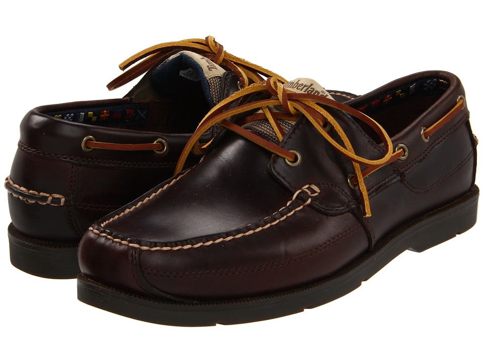 Timberland - Earthkeepers Kia Wah Bay 2-Eye Boat (Brown Pull-Up) Men