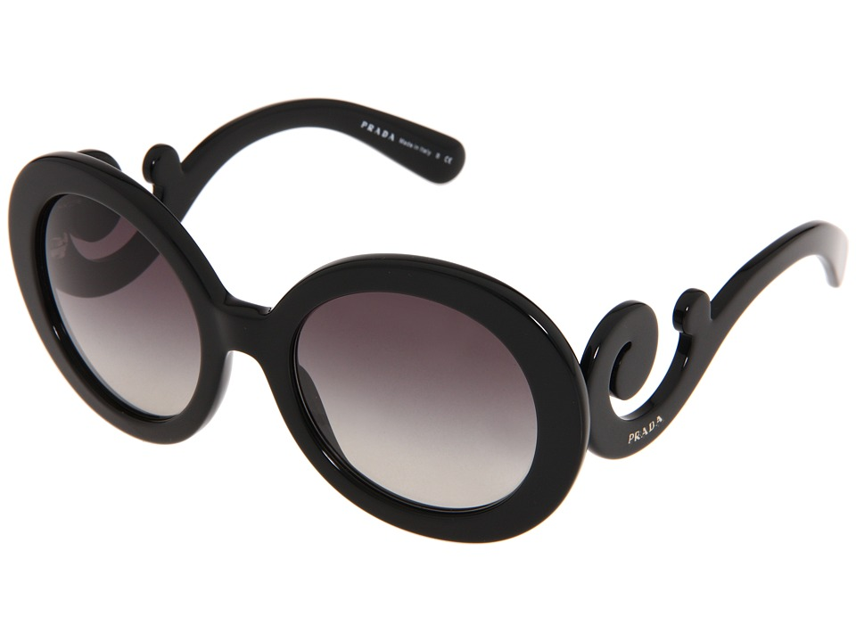Prada PR 27NS Black Fashion Sunglasses
