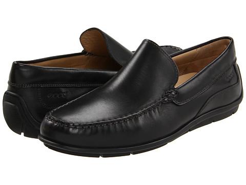 ECCO - Classic Moc (Black Leather) - Footwear
