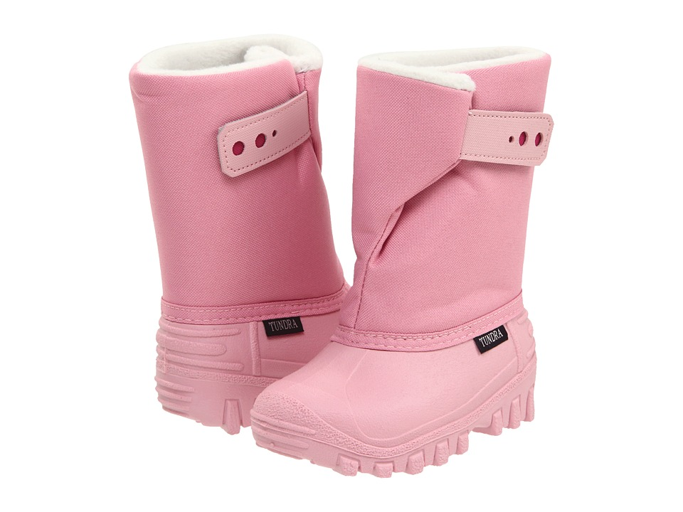 Tundra Boots Kids Teddy 4 Toddler/Little Kid Pink/Fuchsia Girls Shoes