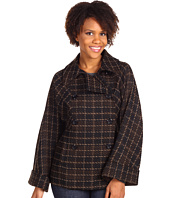 Mac & Jac - Plaid Double Button