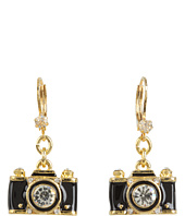 Betsey Johnson - Royal Engagement Camera Stud Earrings