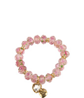Betsey Johnson - Tzarina Pink Beads Stretch Bracelet