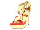 Two Lips - Goldigger (Red/Gold) - Footwear