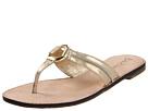 Lilly Pulitzer - McKim Sandal (Gold Metal)