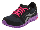 Reebok Kids - Realflex Optimal (Youth) (Black/Purple/Silver/Condensed Pink) - Footwear