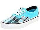 Vans Kids - Era (Toddler/Youth) ((Glitter Plaid) Blue Atoll) - Footwear