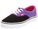 Vans Kids - Era (Toddler/Youth) ((Tri-Tone) Black/Purple/Pink) - Footwear