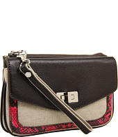 BCBGMAXAZRIA - Canvas Clutch