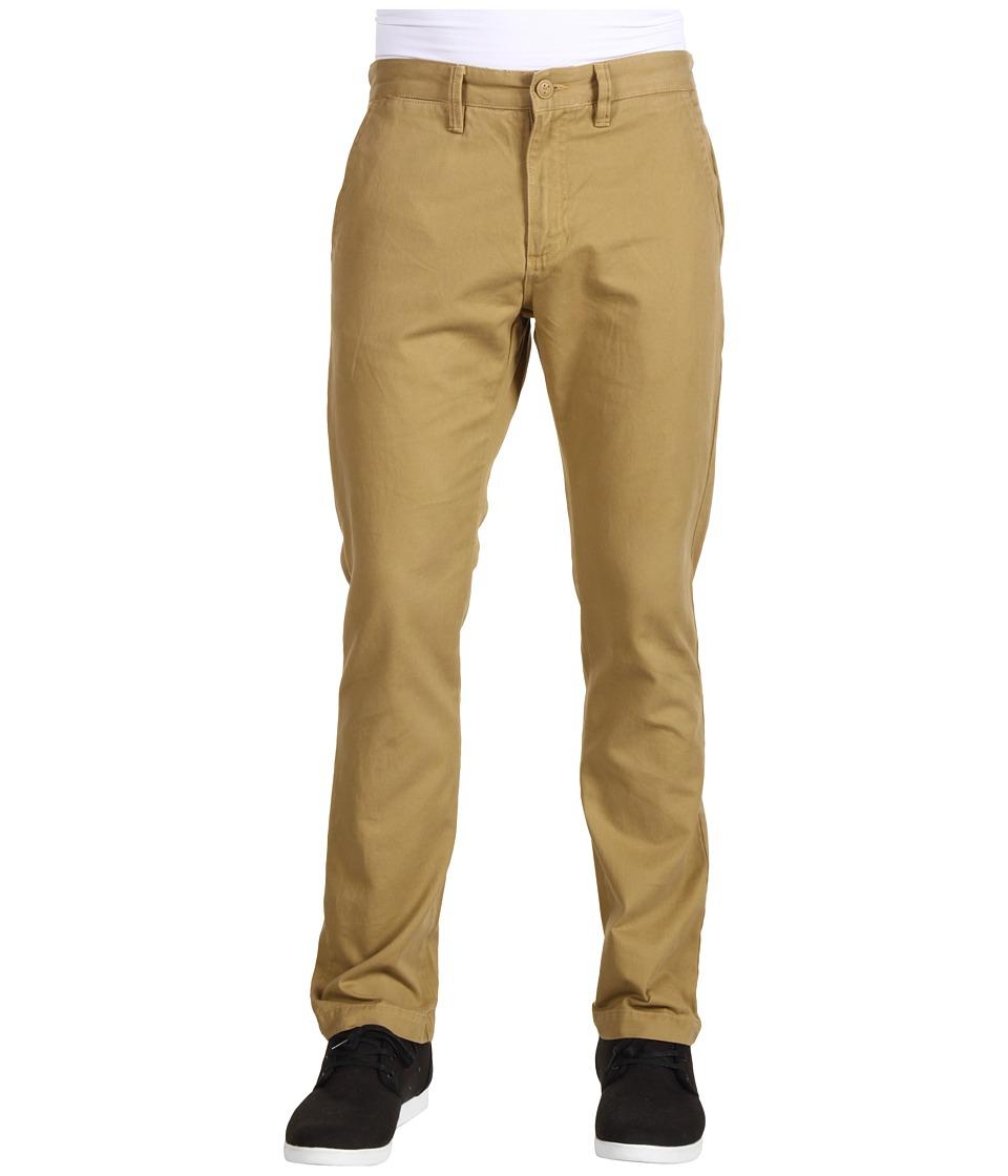 Vans Excerpt Chino Pants New Mushroom Brown Mens Casual Pants