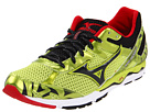 Mizuno - Wave Musha 4 (Lime Punch/Anthracite/Chinese Red) - Footwear