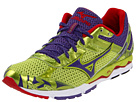 Mizuno - Wave Musha 4 (Lime Punch/Prism Violet/ Chinese Red) - Footwear