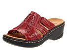 Clarks - Lexi Bark (Red Leather) - Footwear