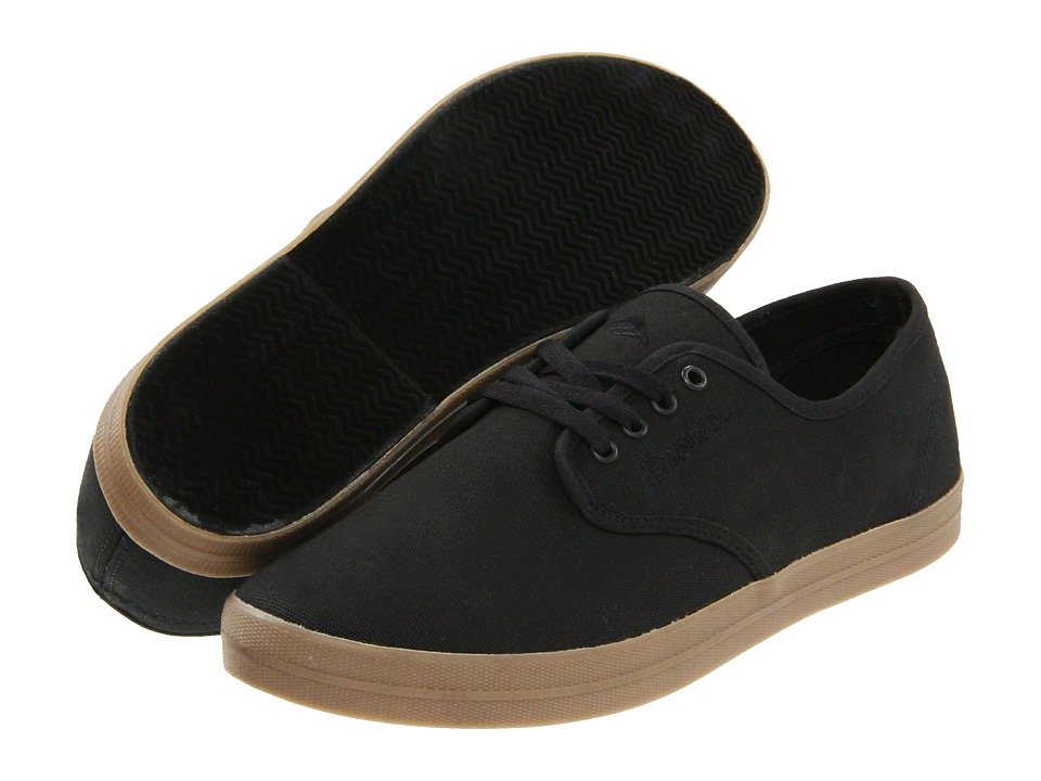Emerica The Wino (Black/Gum (Canvas)) Men