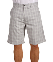 Callaway - BESB0005 Plaid Flat Front Tech Short