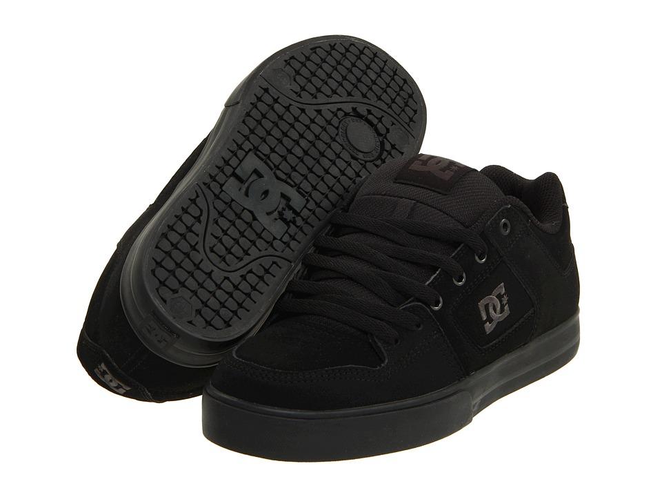 DC - Pure (Black/Pirate Black) Mens Skate Shoes