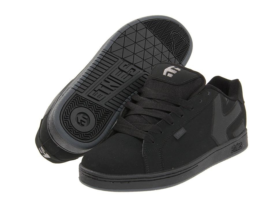 etnies - Fader (Black Dirty Wash) Mens Skate Shoes