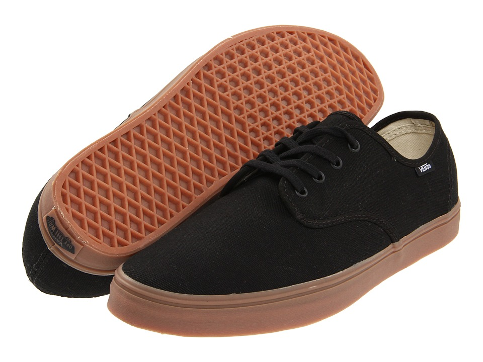 Vans Madero (Black/Gum) Skate Shoes