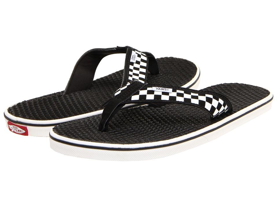 Vans La Costa ((Checkerboard) White/Black) Men