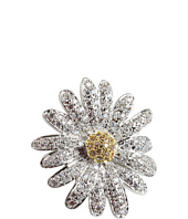 CZ By Kenneth Jay Lane - CZ Two-Tone Daisy Ring