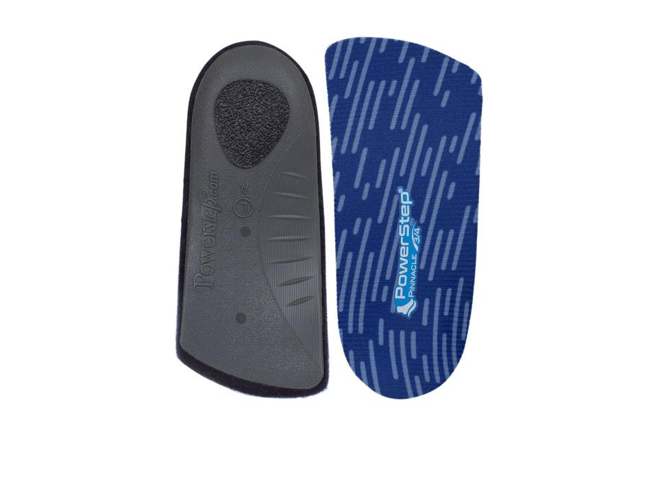 Powerstep SlimTech 3/4 Blue Insoles Accessories Shoes