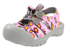 Keen Kids - Sunport (Toddler/Youth) (Lilac Chiffon/Yellow Flower Print) - Footwear