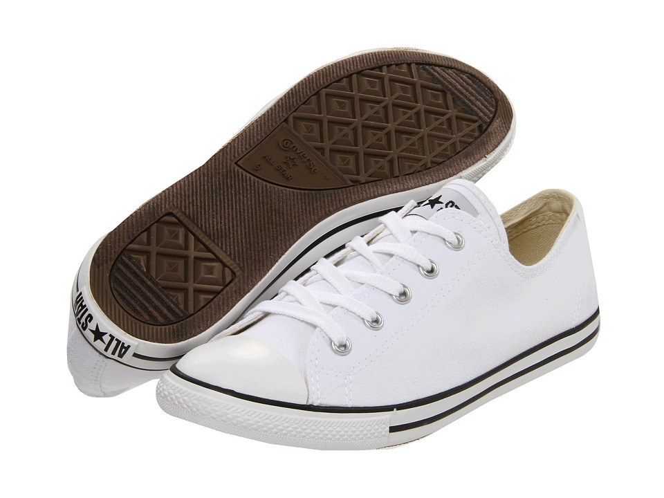 Converse - Chuck Taylor All Star Dainty Ox (White) Women's Classic Shoes