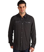 John Varvatos - Gingham Zip Pocket Shirt