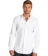 Costume National - Slim Collar Long Sleeve Button Down