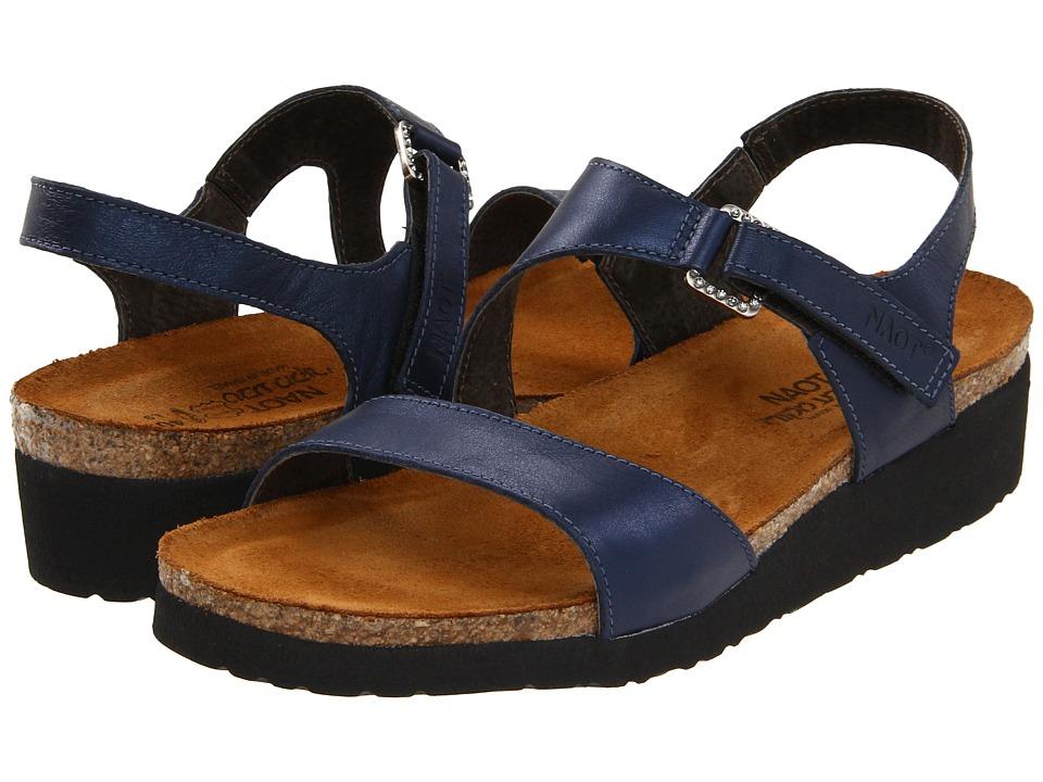 Naot Footwear Pamela (Polar Sea Leather) Sandals