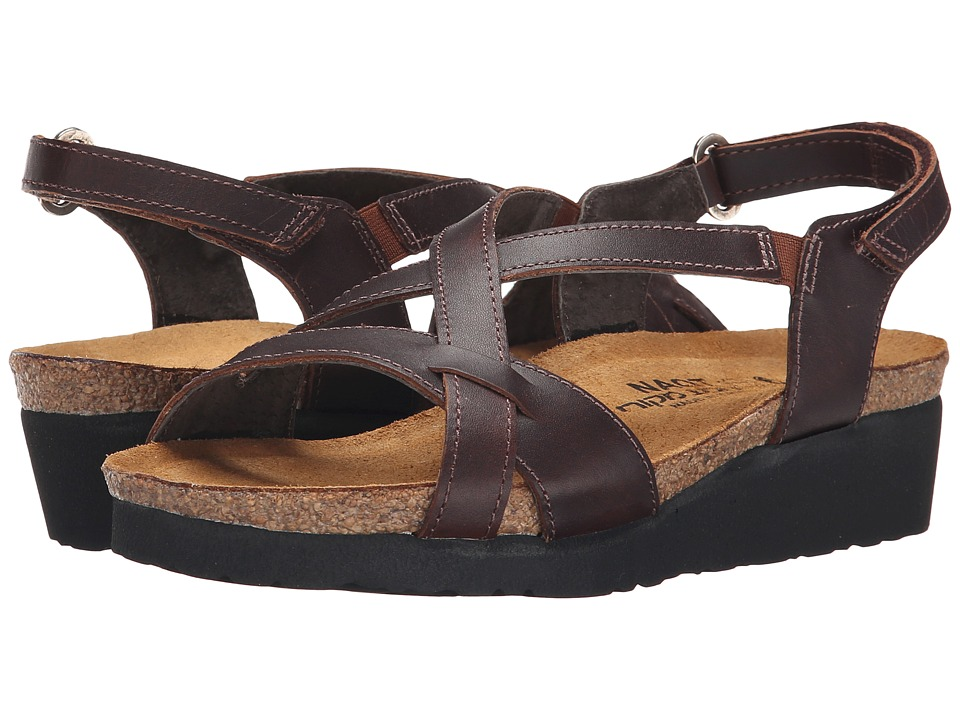 Naot Footwear Bernice Buffalo Leather Womens Sandals