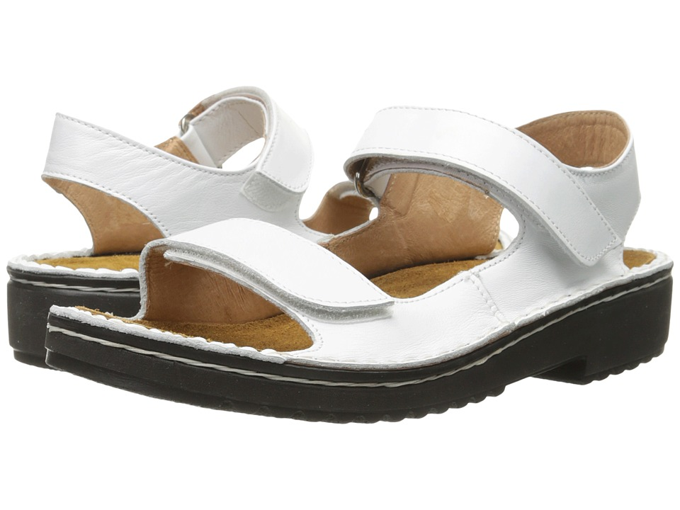 Naot Footwear Karenna (White Leather) Sandals