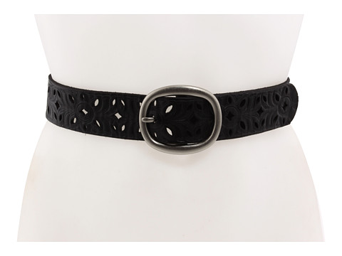 Fossil Floral Perforated Strap