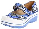 Dansko Kids - Valentine (Toddler/Youth) (Blue Hawaii Canvas) - Footwear