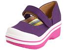 Dansko Kids - Valentine (Toddler/Youth) (Purple Canvas) - Footwear