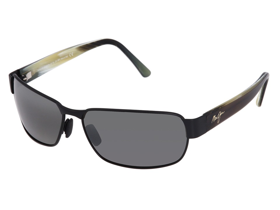 Maui Jim Black Coral Matte Black/Neutral Grey Sport Sunglasses