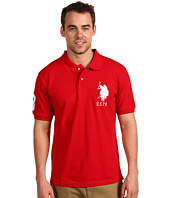U.S. POLO ASSN. - Solid Polo with Big Pony