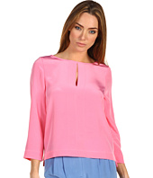 Tibi - Essentials Three-Quarter Sleeve Top