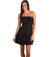 Laundry by Shelli Segal - Pleated Tiered Mini Dress