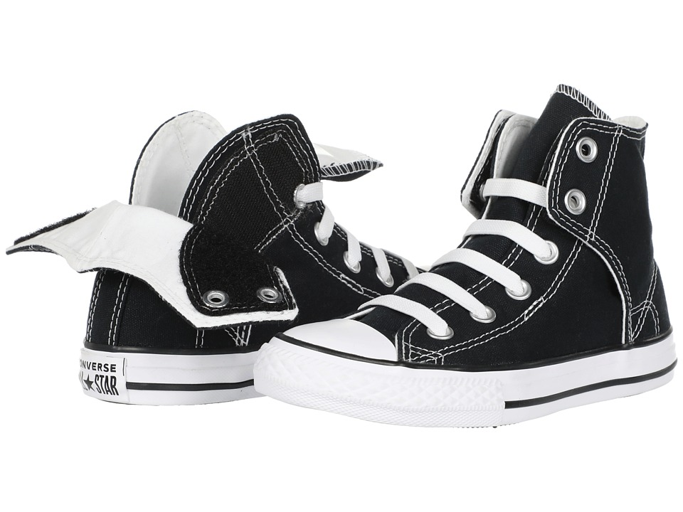 Converse Kids - Chuck Taylorreg All Starreg Easy Slip (Little Kid/Big Kid) (Black) Boys Shoes