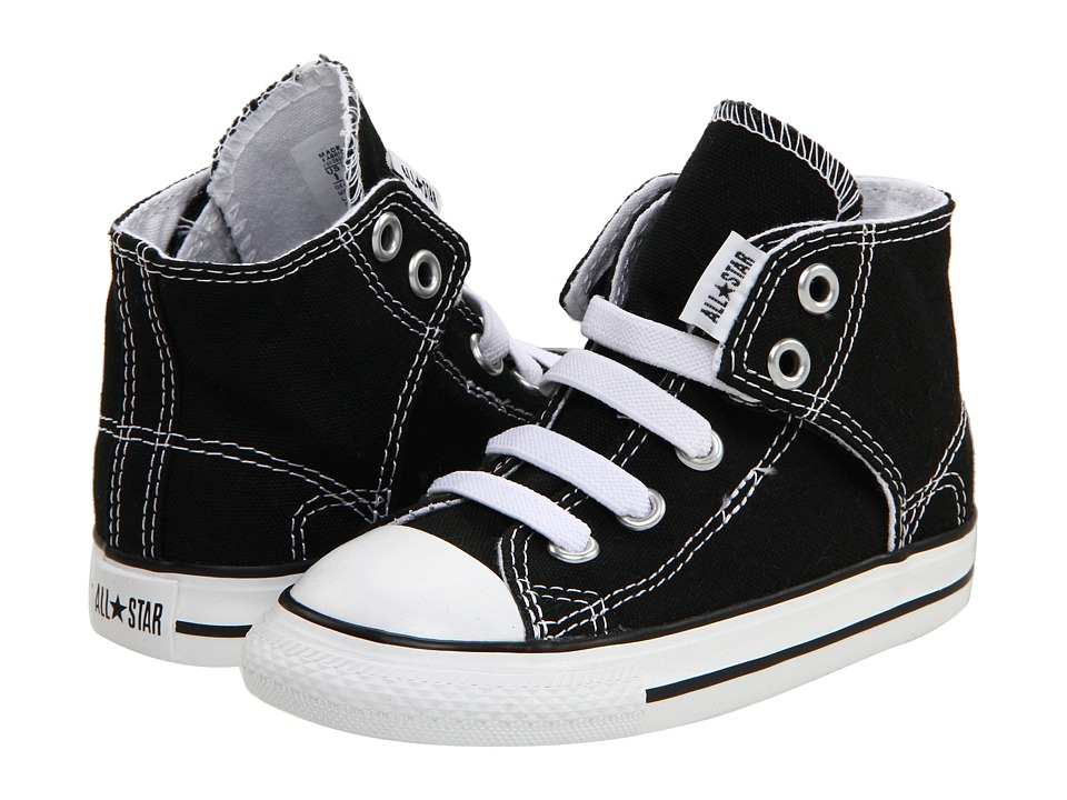 Converse Kids Chuck Taylor All Star Easy Slip (Infant/Toddler) (Black) Kids Shoes