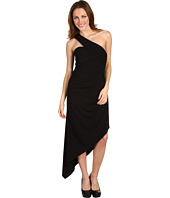 Laundry by Shelli Segal - One Shoulder Jersey Dress w/ Asymmetrical Hem