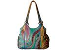 Anuschka Handbags Anuschka Handbags 469 Triple Compartment Medium Satchel