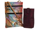Anuschka Handbags 448 Mini Double Zip Travel Crossbody