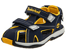 Timberland Kids - Mad River Closed-Toe Sandal (Infant/Toddler) (Navy/Yellow) - Footwear
