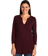Three Dots - 3/4 Sleeve V-Neck Tonya Tee