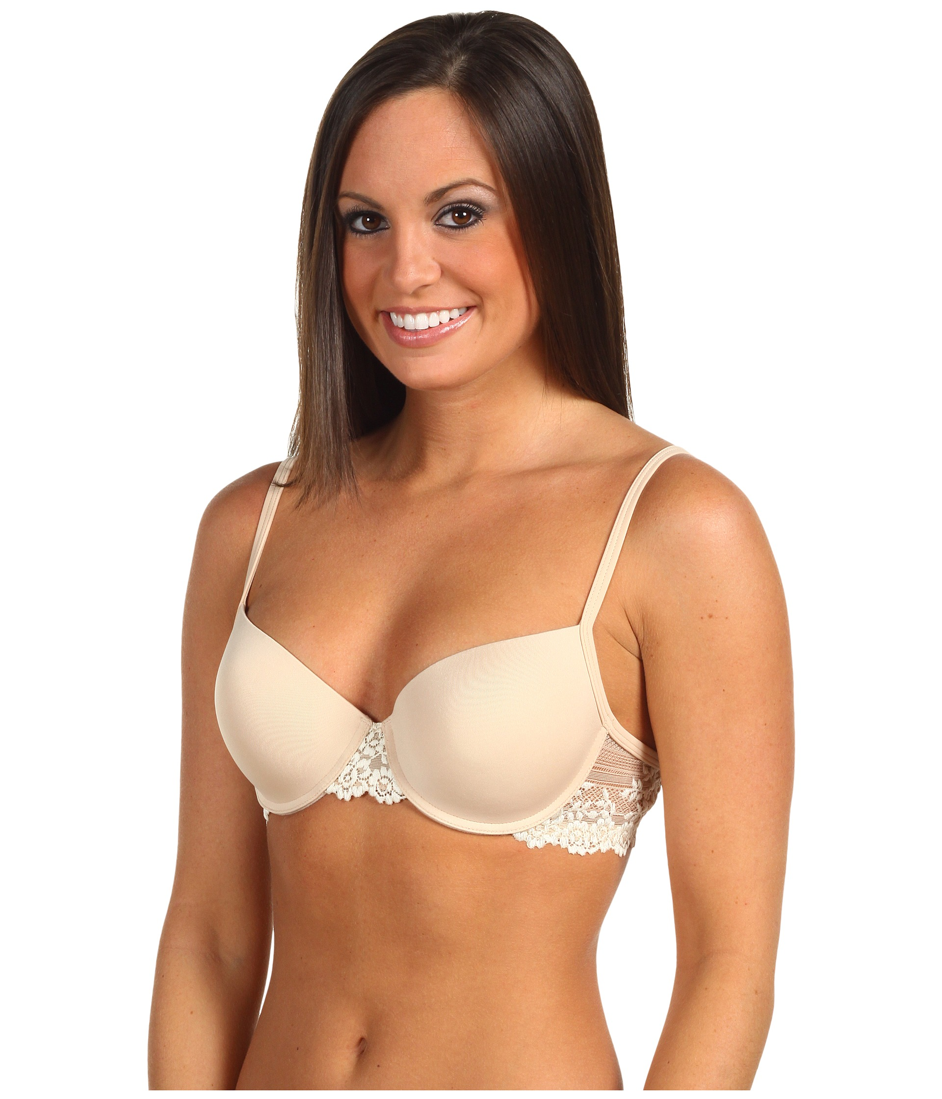 05edb7b4f8 Wacoal Petite Embrace Lace Push-Up Bra 75891 - Zappos.com Free .