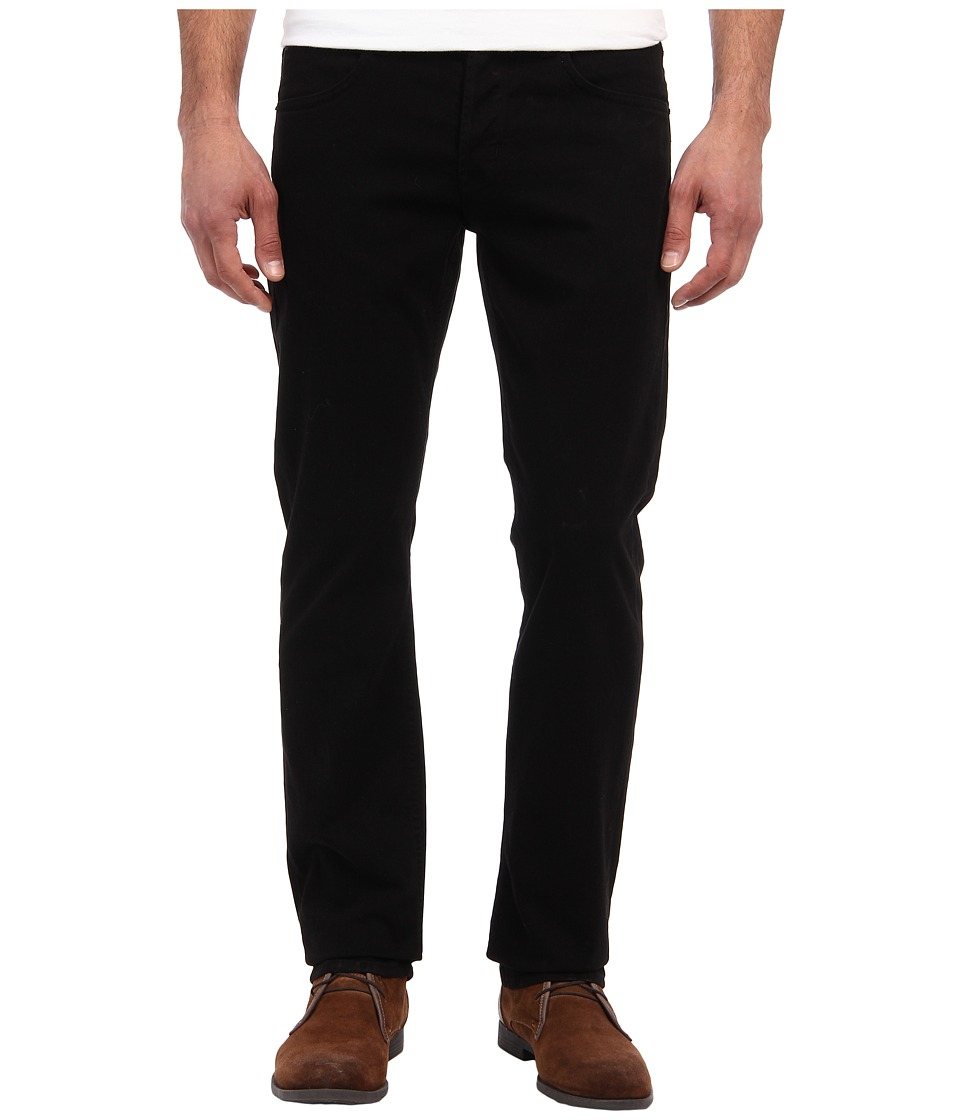 Hudson Byron Five Pocket Straight in Jet Black Jet Black Mens Jeans