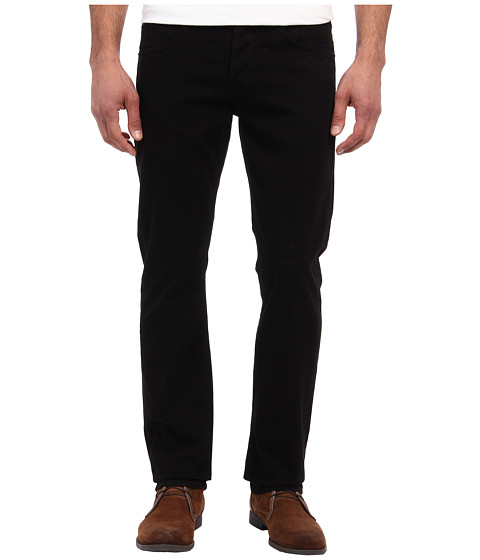 Hudson Byron Five-Pocket Straight in Jet Black