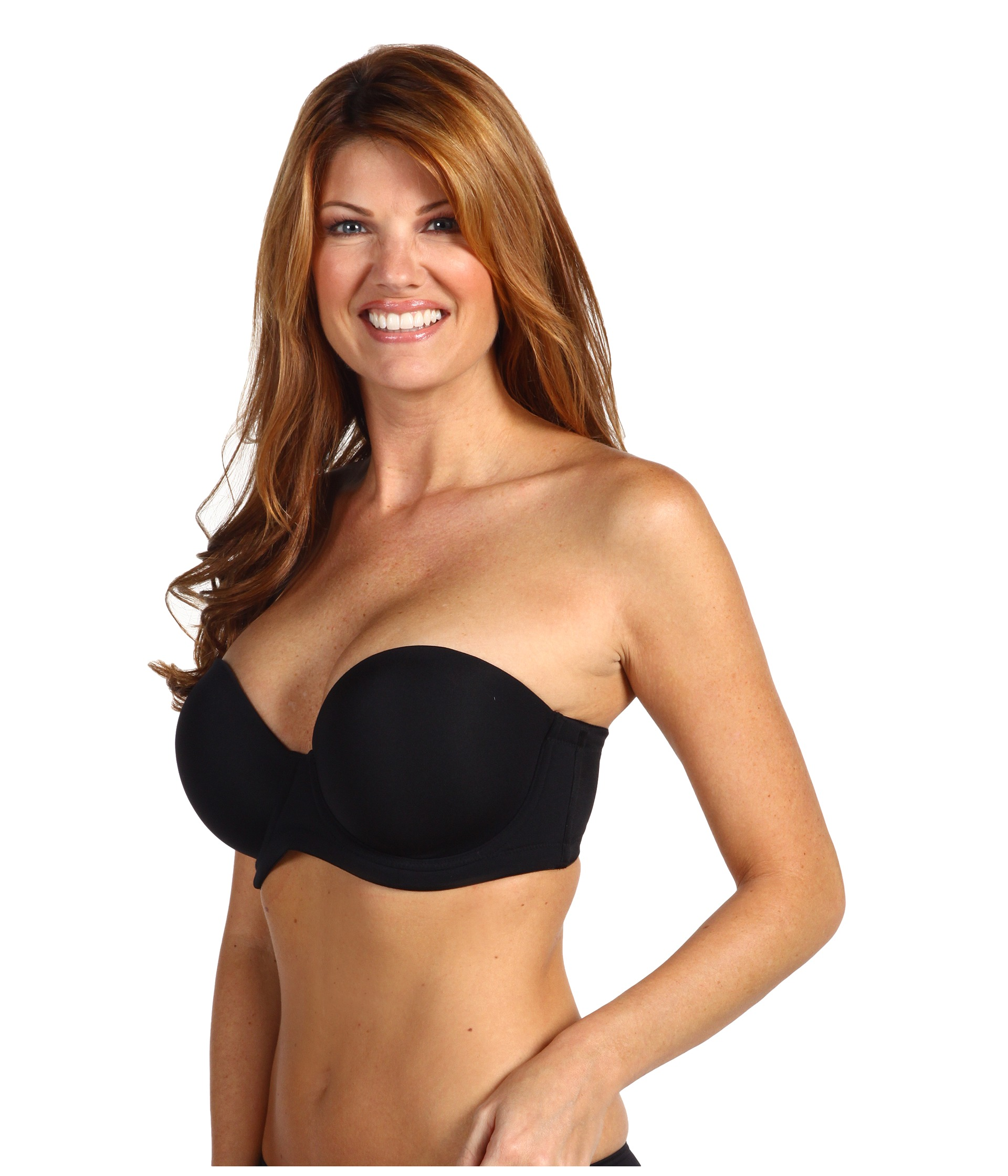 Wacoal Red Carpet Full-Busted Strapless Bra 854119 at Zappos.com